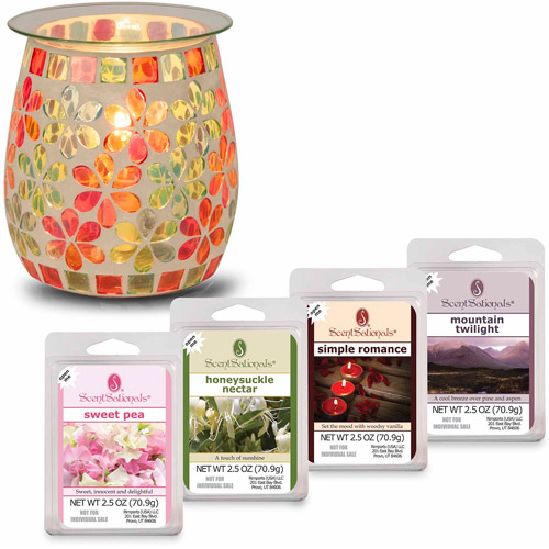 ScentSationals Wax Warmer Starter Set, Pink Lemonade