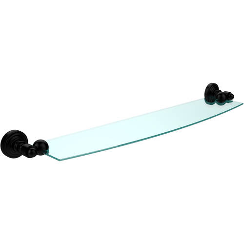 """Waverly Place 24"""" Glass Shelf (Build to Order)"""