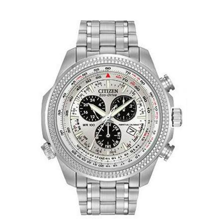 Mustang Calendar Watch (Eco-Drive Perpetual Calendar Alarm Men's Watch, BL5400-52A)