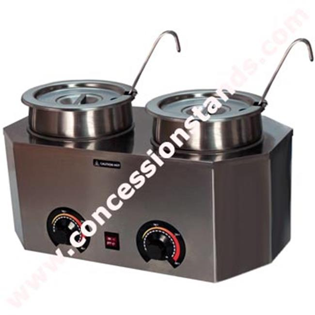 Paragon International Pro-Deluxe Dual Warmer with Ladles