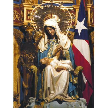 San Juan Argentina - Old San Juan Cathedral, Puerto Rico Print Wall Art By Timothy O'Keefe