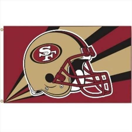 NFL San Francisco 49ers 3' x 5' Flag by