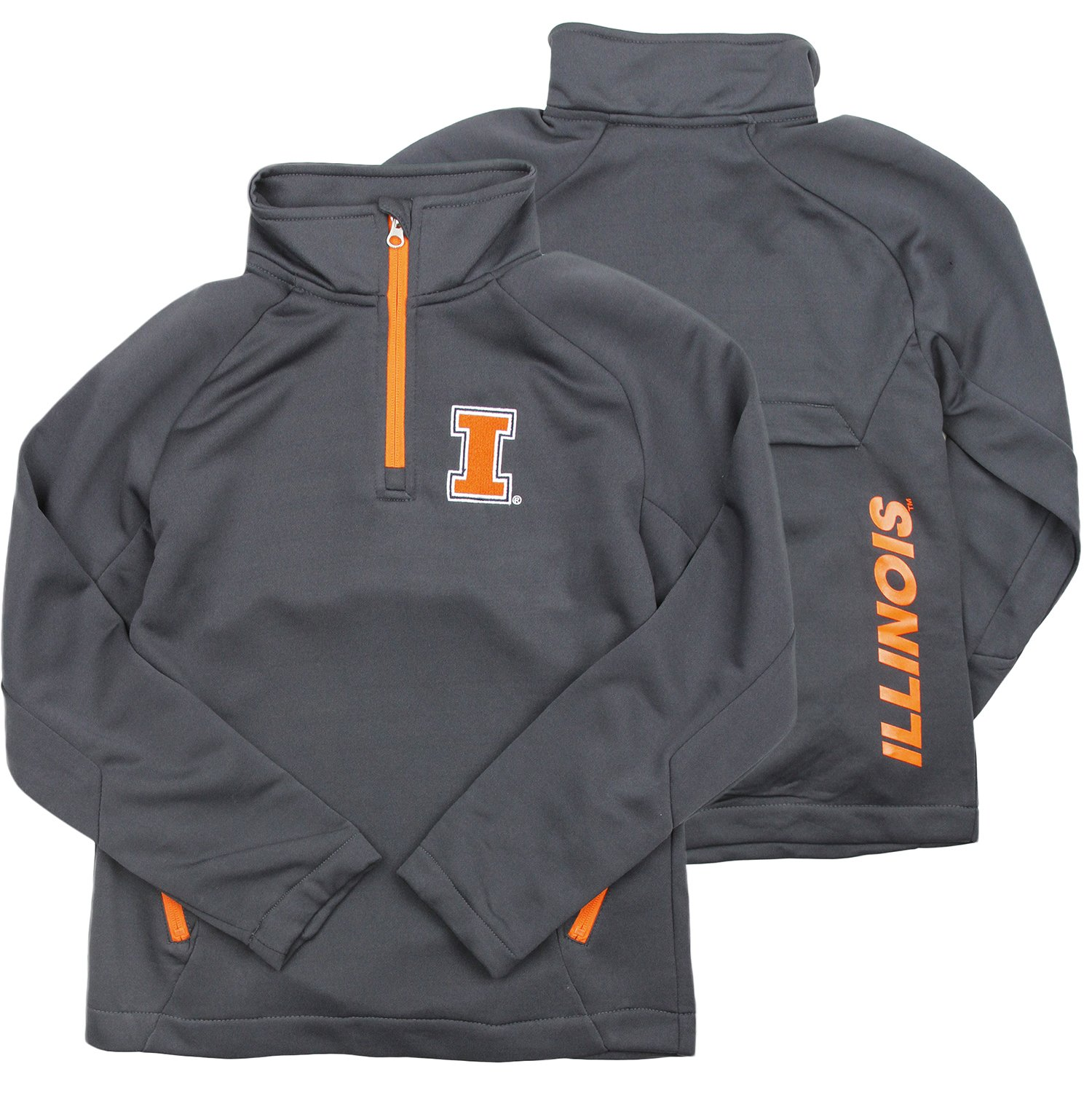 Genuine Stuff NCAA Youth Boys University of Illinois Fighting Illini Aviator Sweatshirt