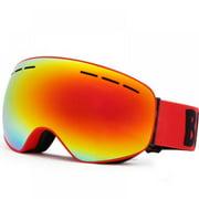 Jolly Ski Goggles Double Layers UV400 Anti-fog Snowboard Eyewear Anti-fog Big Ski Mask Glasses Snow Snowmobile Man Women Skiing Outdoor Sport