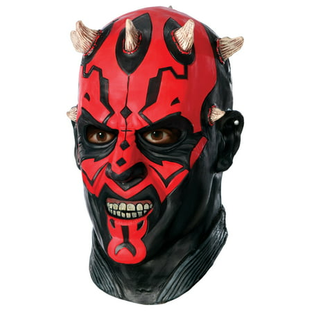 Star Wars - Darth Maul Overhead Latex - Star Wars Darth Maul Mask