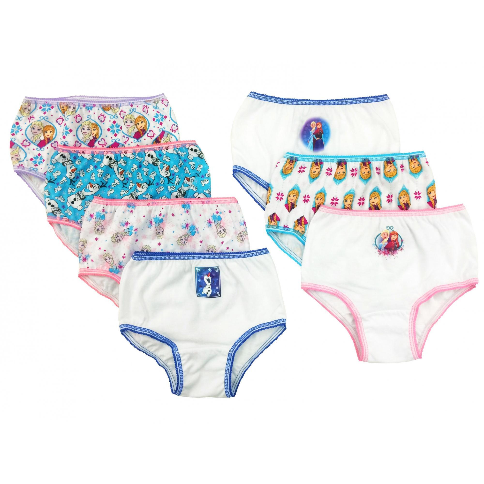 14747:Disney Disney Frozen Girls' Underwear, 7 Pack