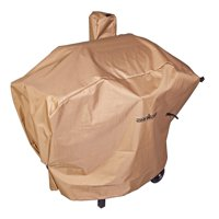 Camp Chef Weather Resistant Nylon Heavy Duty 24 inch Grill Patio Cover, Tan