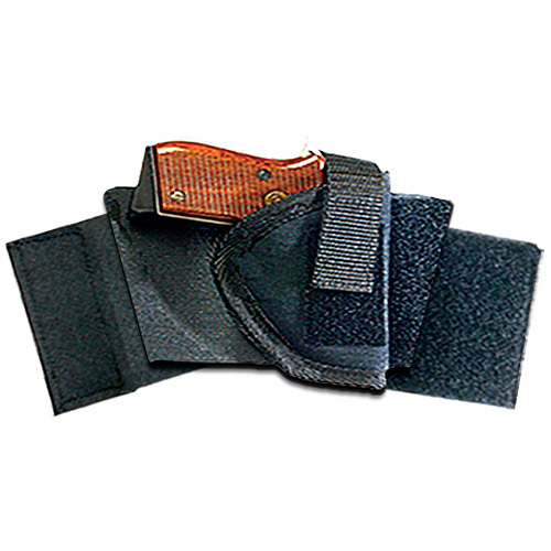 Bulldog Cases Pro Ankle Holster, Fits Glock 26/27, Walther P22, HK USP, Right Hand, Black