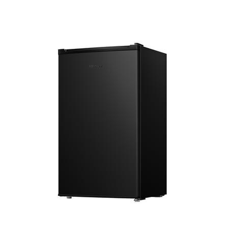Hisense 3 3 Cu Ft Single Door Mini Fridge RR33D6ABE, Black
