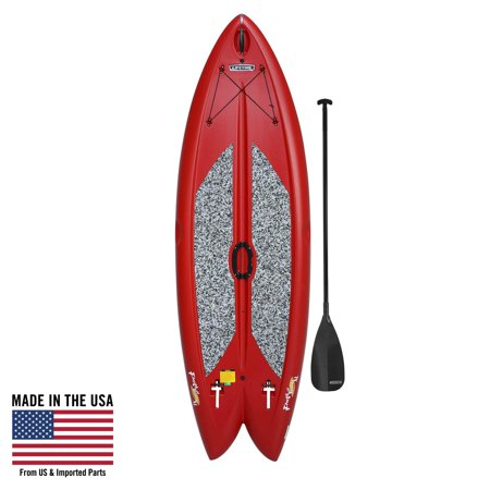 Lifetime Freestyle XL 98 Red Stand-Up Paddleboard (Paddle Included), (Best Cheap Paddle Board)
