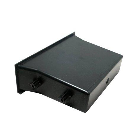 Single Pocket Fascia Din Car Vehicle Radio Cd Storage Box for Nissan - image 3 de 6