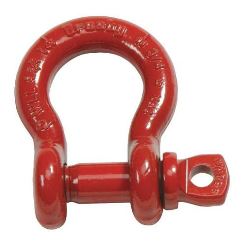 CROSBY 1018482 Anchor Shackle,Carbon Steel,6500 lb.