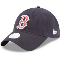 5bd22aca7f76 Product Image Boston Red Sox New Era Women s Team Glisten 9TWENTY  Adjustable Hat - Navy - OSFA