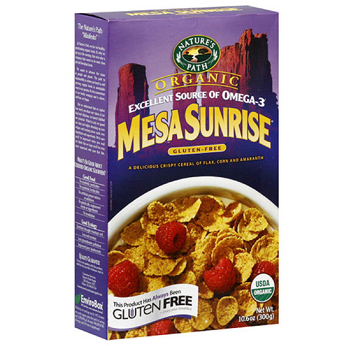 Nature's Path Organic Sunrise Flakes Cereal, 10.6 oz  (Pack of 6)