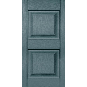 Per Pair Tuxedo Grey 14.75W x 47H Builders Edge  Shutters 018