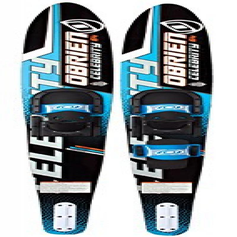 O'Brien Celebrity Combo Water Skis with 700 Bindings, Blue, 64-Inch by