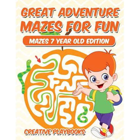 Great Adventure Mazes for Fun Mazes 7 Year Old - Halloween Crafts For Seven Year Olds
