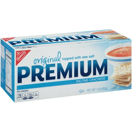 (2 Pack) Nabisco Premium Saltine Crackers, Original, 16 Oz - Clackers For Sale