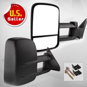 YITAMOTOR Towing Mirrors for 88-98 Chevy GMC C/K 1500 2500 3500 Pickup Pair Set Manual Extendable Side Mirrors