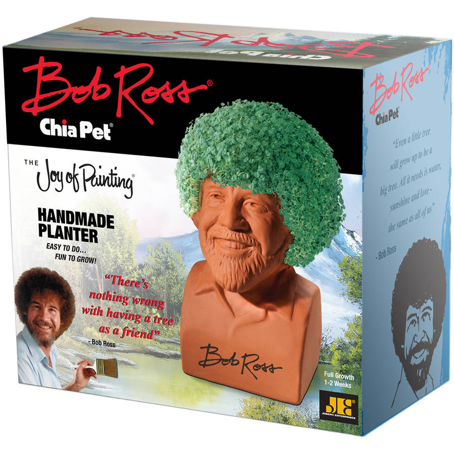 Chia Pet Bob Ross - The Joy of Painting - As Seen on TV!