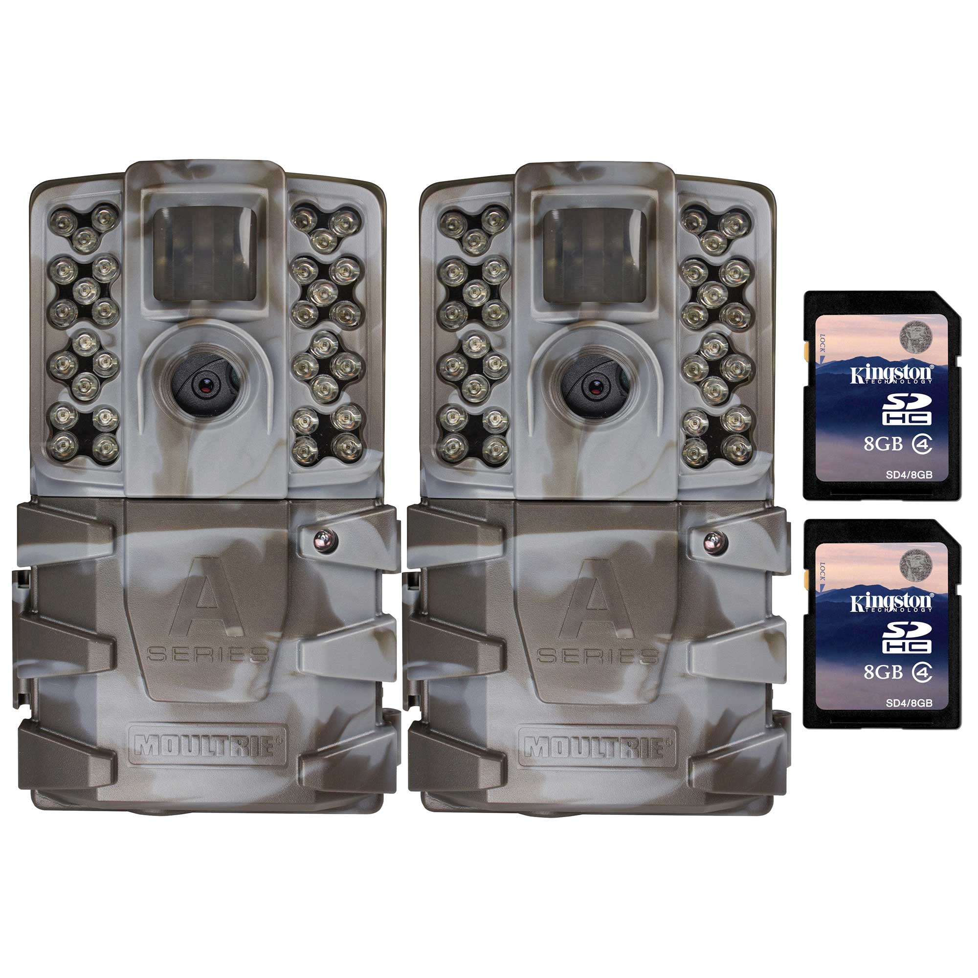 Moultrie A-35 14MP 60' Video LowGlow IR Game Trail Camera...