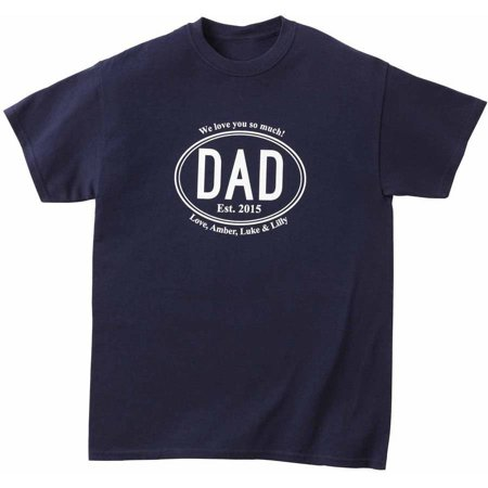 Personalized Established Dad Apparel (Best Man Gift Ideas From Groom)