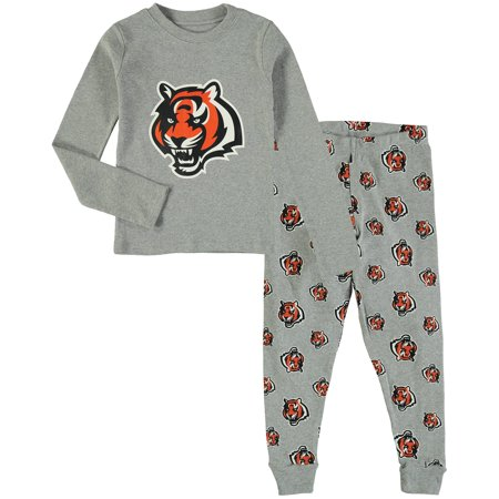 OuterStuff NFL Kids Cincinnati Bengals Long Sleeve Tee & Pant Sleep Set Nfl Sleep Pant