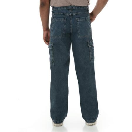 470aaf6ef Wrangler - Big Men's Cargo Jeans - Walmart.com