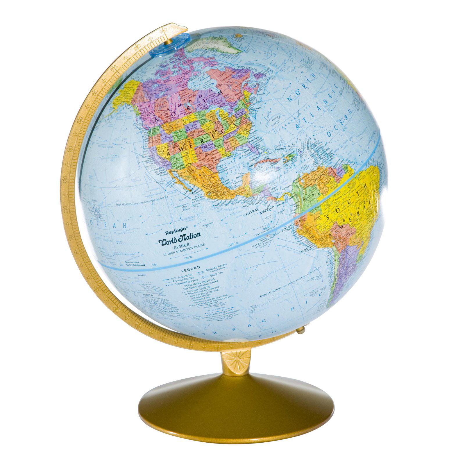 12In Desktop Explorer Globe
