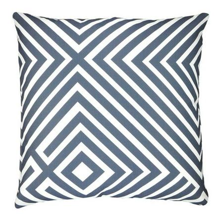 NECTARmodern Maze Graphic Stripes Throw Pillow - Walmart.com