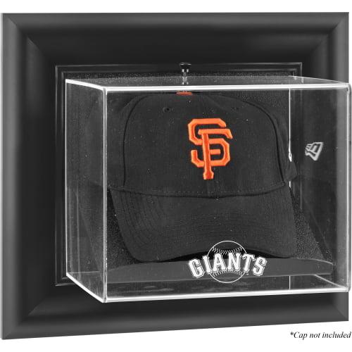 San Francisco Giants Fanatics Authentic Black Framed Wall-Mounted Logo Cap Display Case - No Size