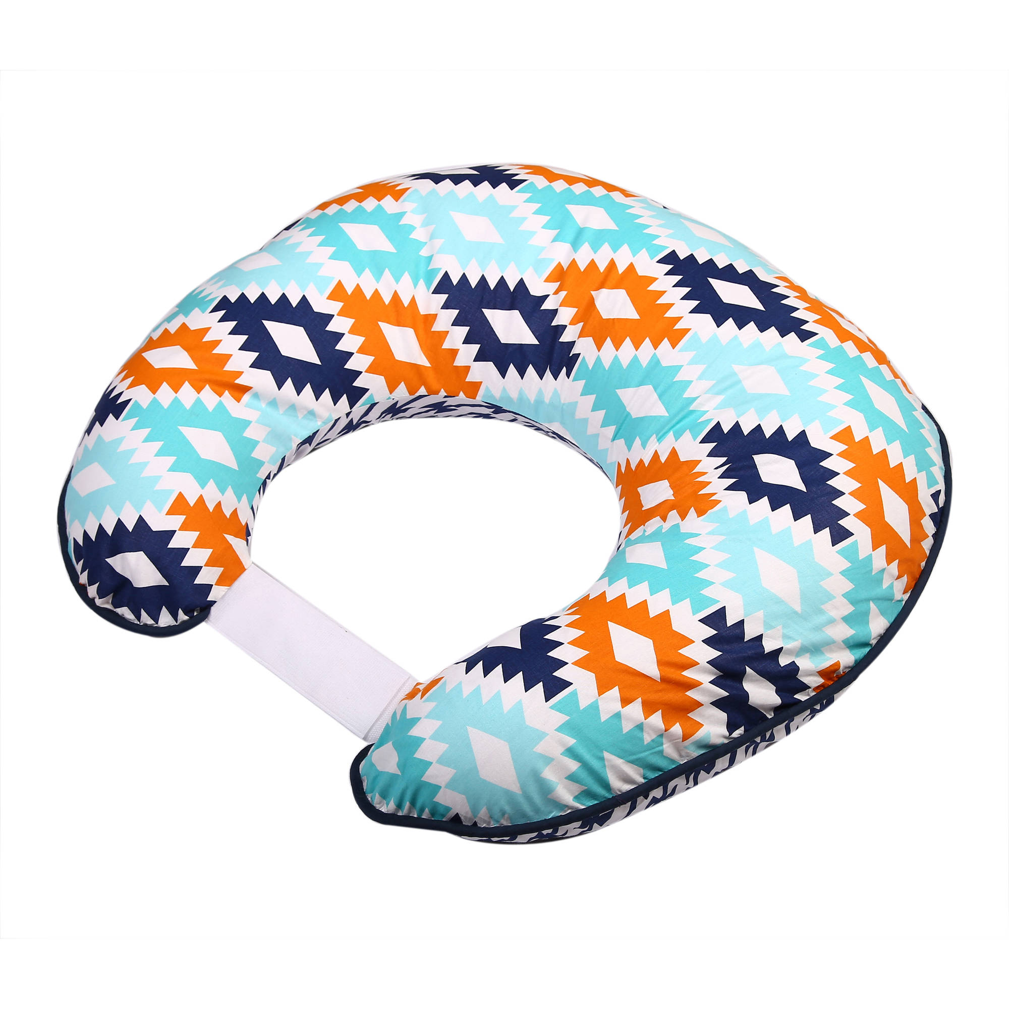 Bacati - Liam Aztec Aqua/Orange/Navy Nursing Pillow Cover fits perfectly only Bacati - Hugster Nursing Pillow
