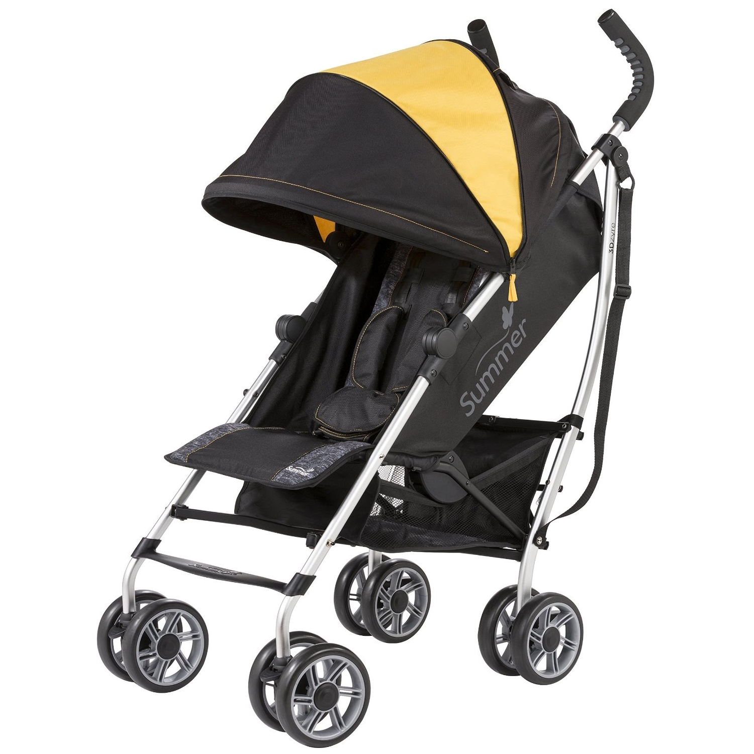 Summer Infant 3D ZYRE Convenience Stroller - Gold Fusion