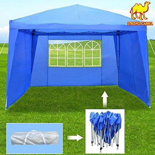 Strong Camel EZ POP UP Wedding Party Tent 10'x13' Folding Gazebo