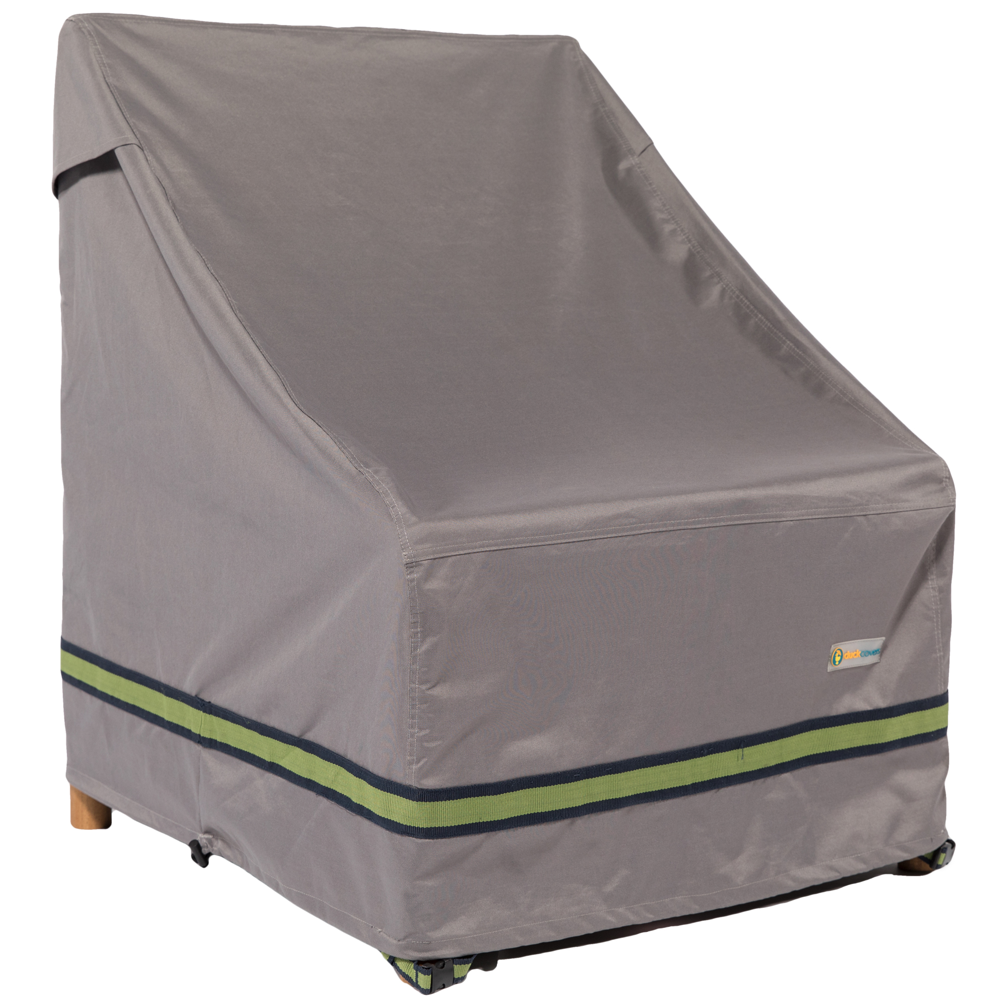 Duck Covers Soteria RainProof 28 in. W Stackable Patio Chair Cover