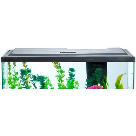 Aqua culture led hood 10 gallon aquariums fish tank cover for 10 gallon fish tank hood