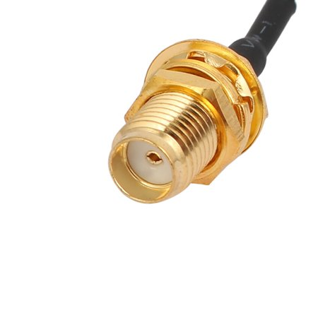 RG174 Coaxial Antenna Extension Cable SMA Female / Male Connector 9M Length - image 2 de 3
