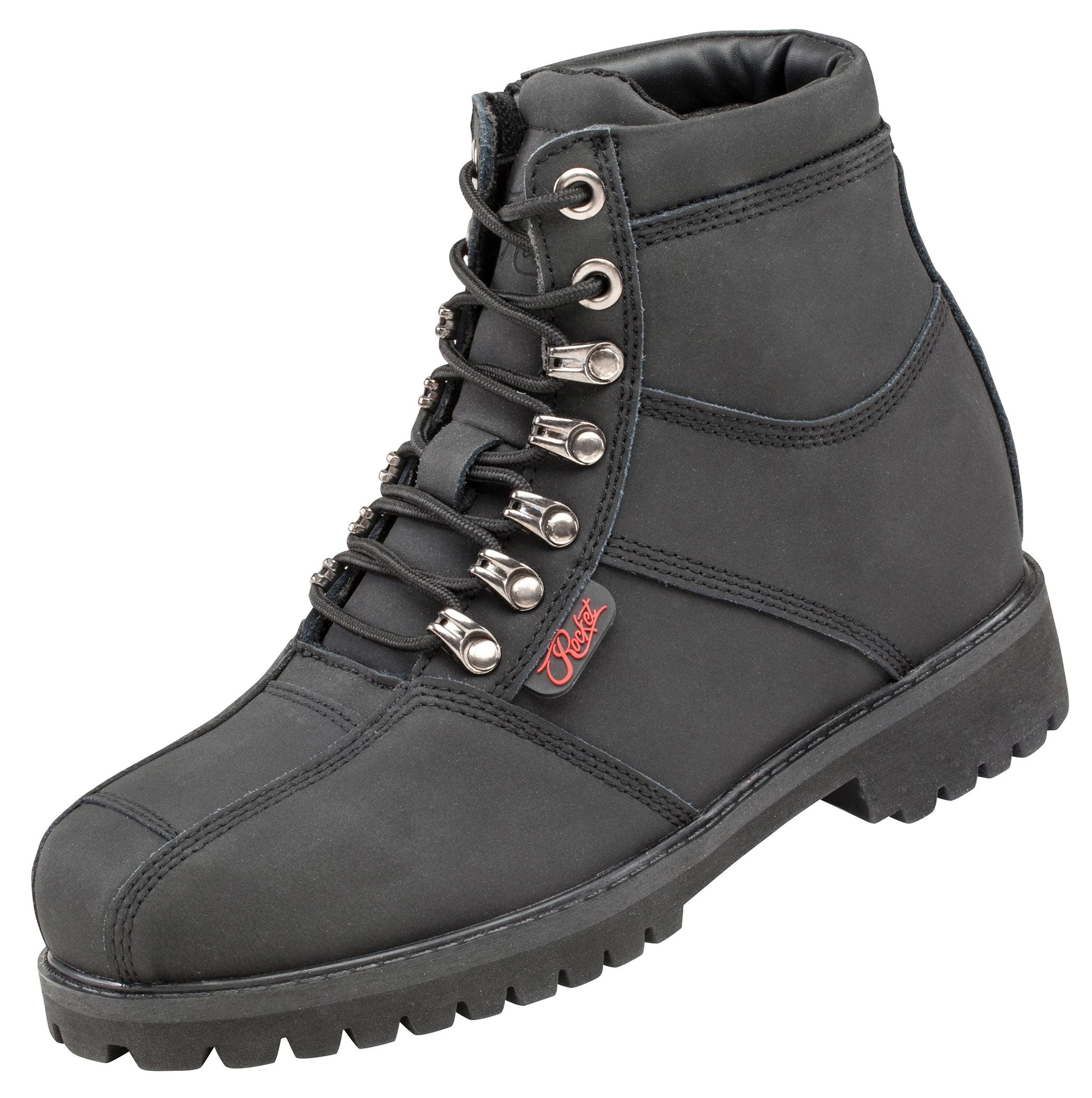 Joe Rocket Rebellion Womens Black Leather Boots