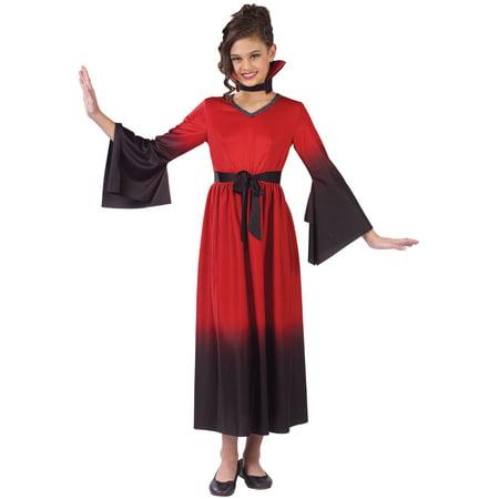 Blood Vampiress Child Halloween Costume