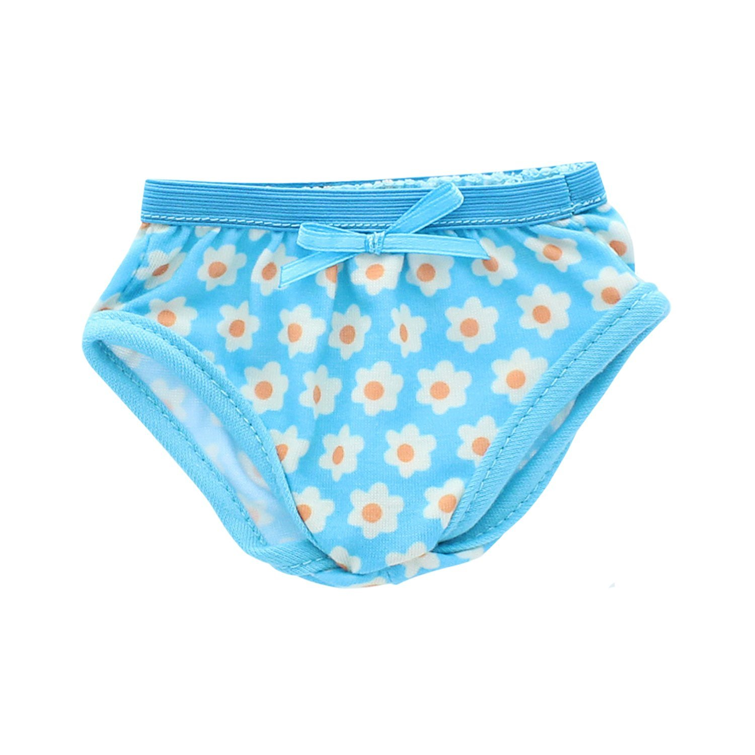 "Blue Floral Panties underwear made for 18/"" American Girl Doll Clothes"