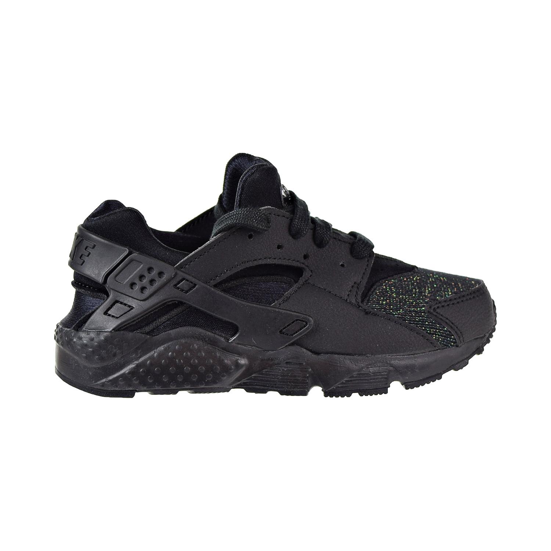 9cfd4c45ee7e Nike - Nike Huarache Run SE Little Kids  Shoes Black Black 859591 ...