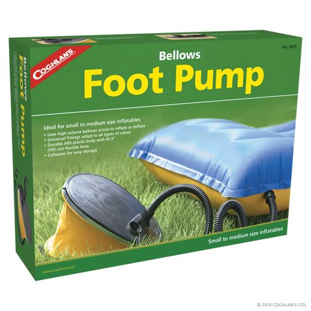 Coghlans Bellows Foot Pump (Plastic Bellows Foot Pump)