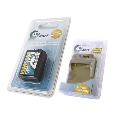 UpStart Battery New - Fully Decoded NP-FW50 Replacement Battery and Battery Charger Kit for Sony Digital Cameras - image 3 de 3