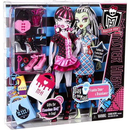 Monster High Dawn of the Dance Day at the Maul Doll Accessory Set