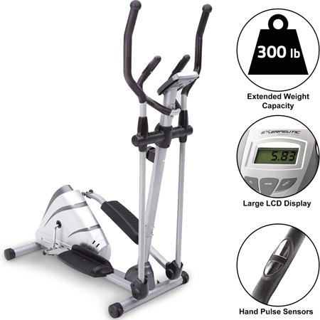 Exerpeutic 1000XL High Capacity Magnetic Elliptical with (Best Elliptical Under 300 Dollars)