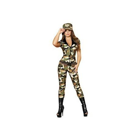 Camo Cutie Costume Roma Costume 4392 Camouflage