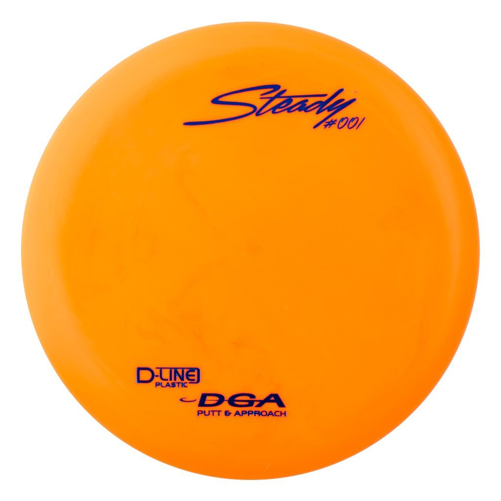 D-line Steady Putter & Approach Golf Disc, Stable putt and approach disc By DGA by