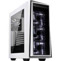 Silverstone RL06BR-PRO 12 x 10.2 in. ATX & Micro-ATX Computer Case - Black with Red Trim