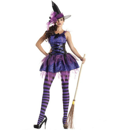 Starry Night Witch Adult Halloween Costume