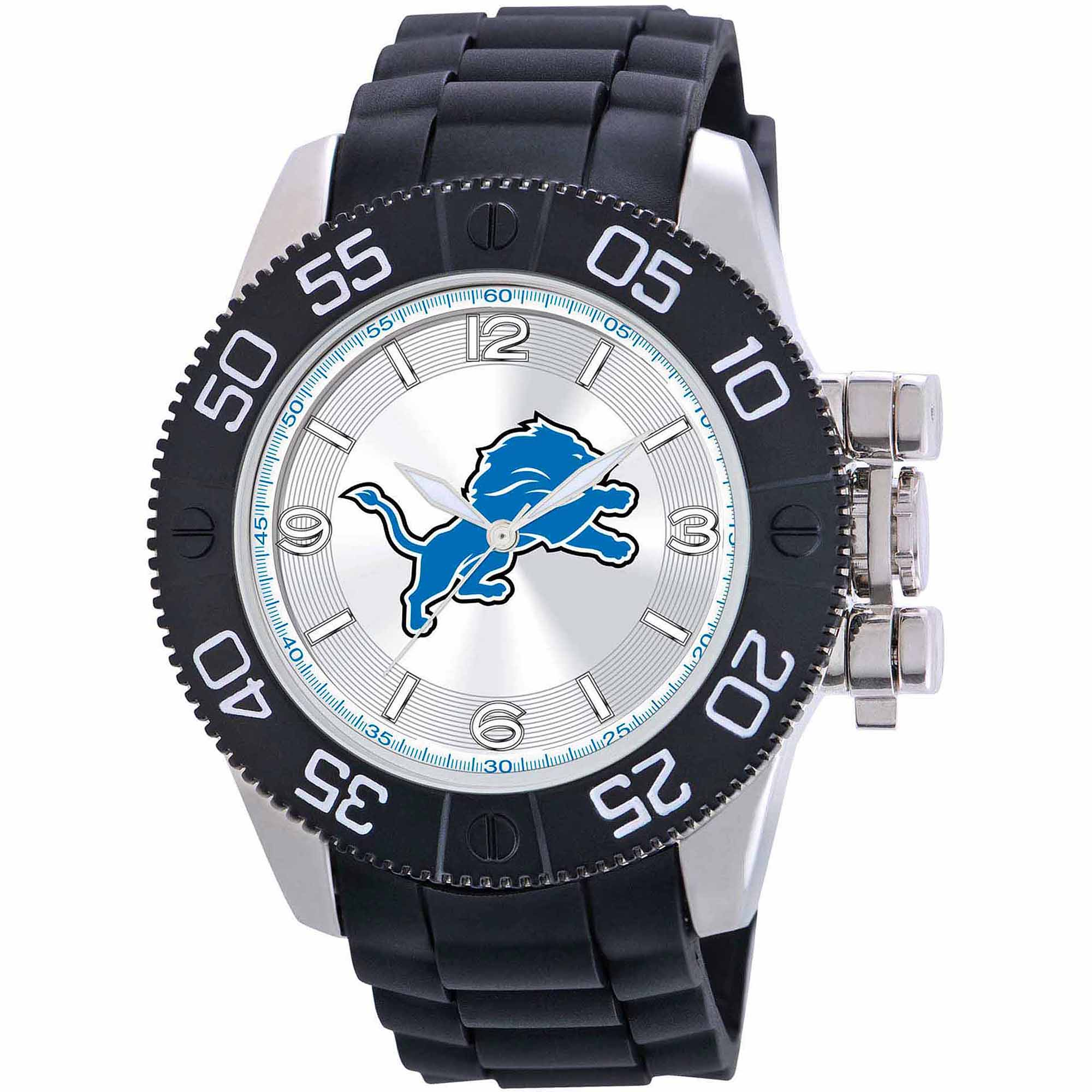 Game Time NFL Men's Detroit Lions Beast Series Watch
